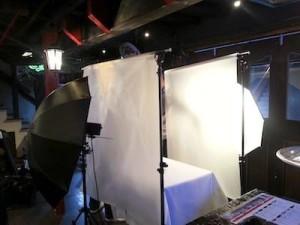撮影のセッティング2