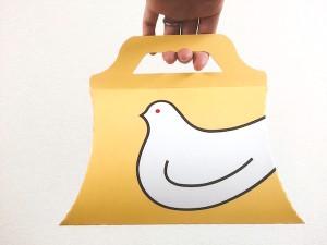 鳩サブレーパッケージデザイン